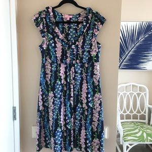 Lilly Pulitzer Navy Claire Dress - Large
